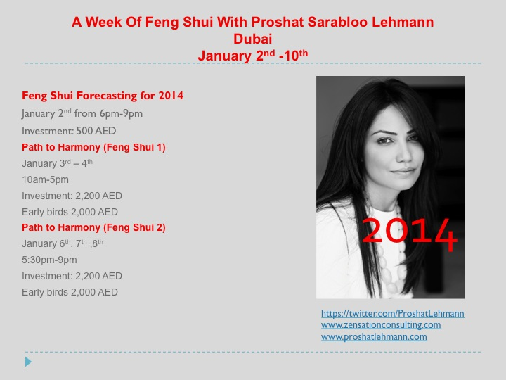 Feng Shui with Proshat Sarabloo Lehmann