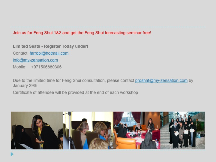 Feng Shui Workshop Dubai